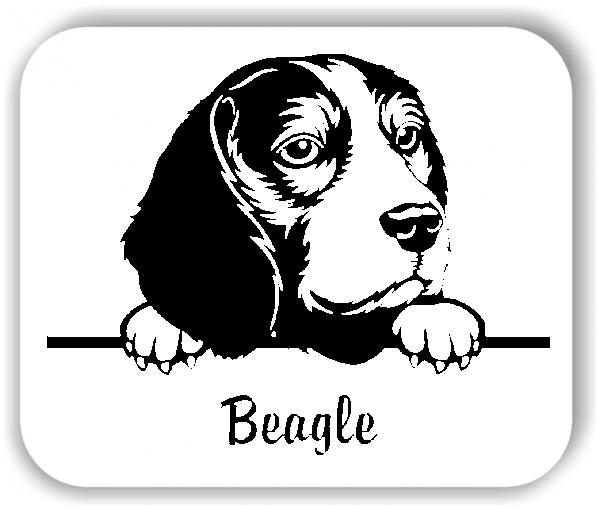 Wandtattoo - Hunde - Beagle
