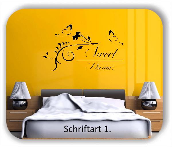Wandtattoo - Sweet Dreams - Variante 3