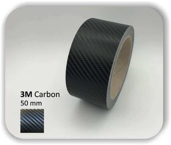 3M Zierstreifen Carbon Wrapping Folie 1080 3D-Folie 50mm für Auto Boot Motorrad