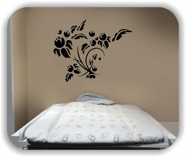 Wandtattoo - China Floral - ab 50x40 cm - Motiv 3152
