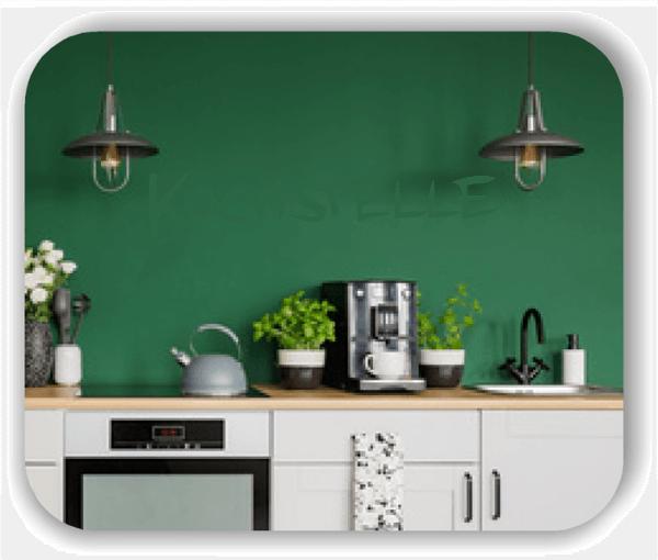 Wandtattoo - Kochstelle