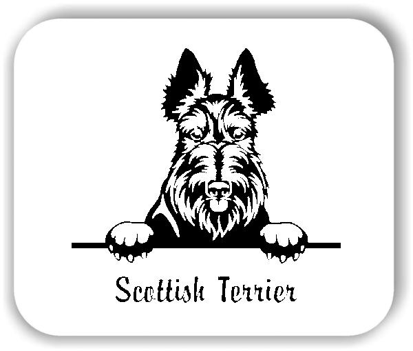 Wandtattoo - Hunde - Scottish Terrier