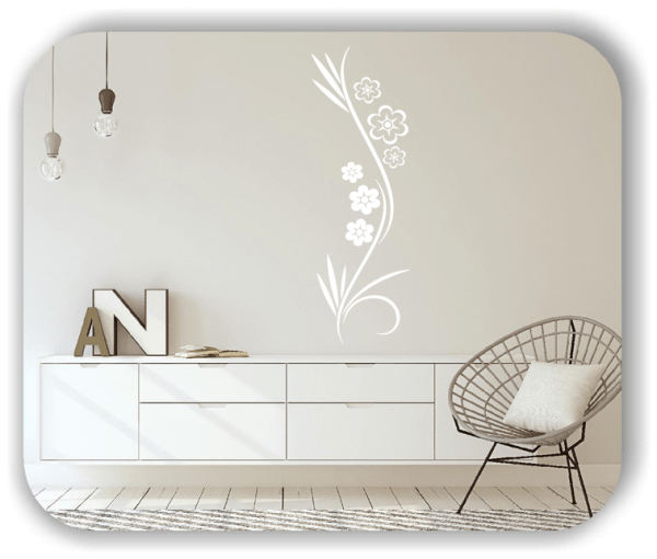 Wandtattoo - Japan Floral - ab 20x60 cm - Motiv 3281