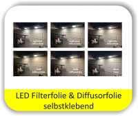 LED Warmlichtfilter Potpourri Pastell - LED Filterfolien
