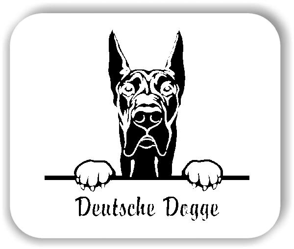 Wandtattoo - Hunde - Deutsche Dogge