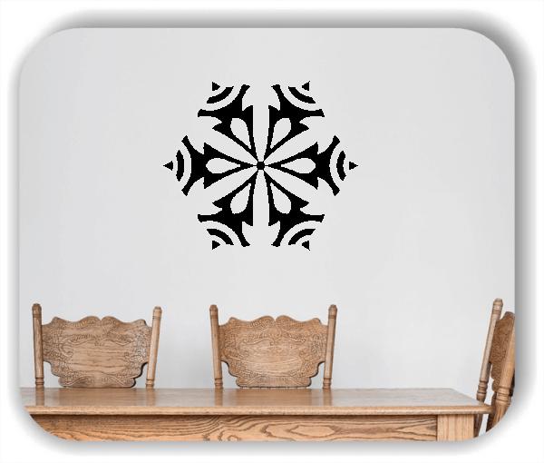 Wandtattoo - Snowflakes - ab 50x43 cm - Motiv 2573