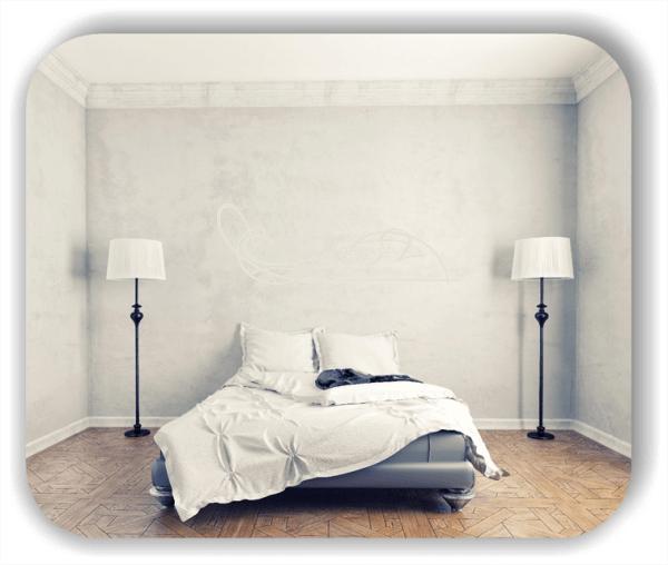 Wandtattoo - Schnörkel Design - ab 60 x 20 cm - Motiv 38
