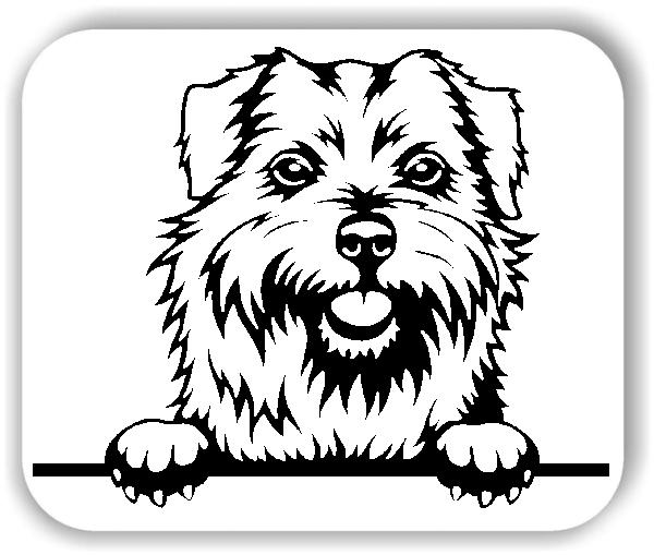 Wandtattoo - Hunde - Norfolk Terrier - ohne Rassename