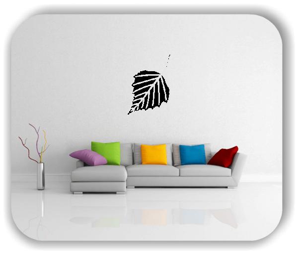 Wandtattoo - ab 50x70cm - Blätter - Motiv 8241