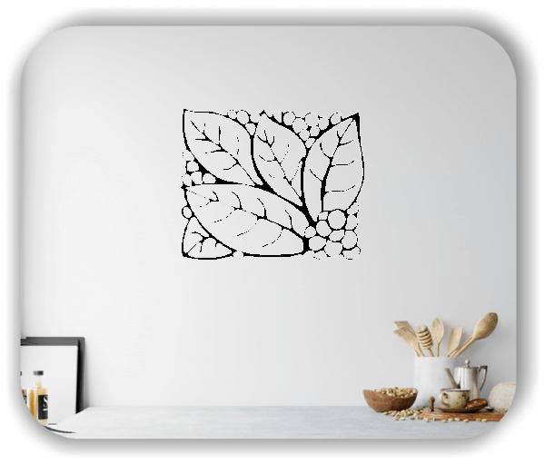 Wandtattoo - Natur Ornamente - ab 60 x 49 cm - Motiv 36