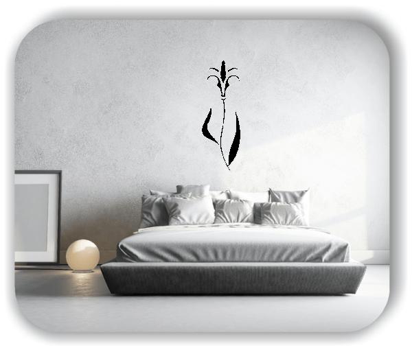 Wandtattoo - Schnittblumen - ab 18x50 cm - Motiv 9001