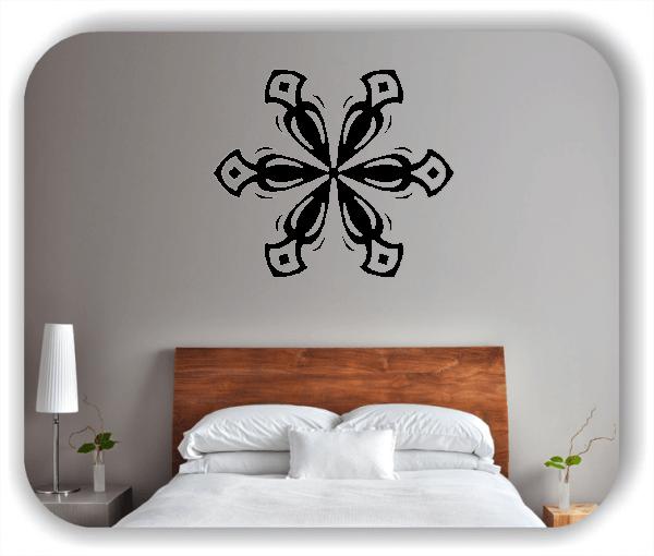 Wandtattoo - Snowflakes - ab 50x43 cm - Motiv 2553