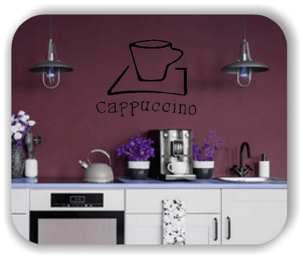 Wandtattoo - Cappuccino