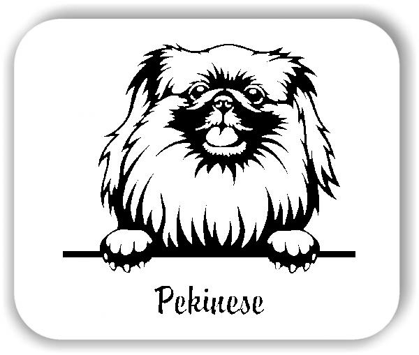 Wandtattoo - Hunde - Pekinese