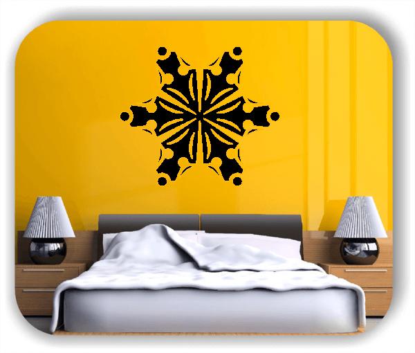 Wandtattoo - Snowflakes - ab 50x43 cm - Motiv 2546