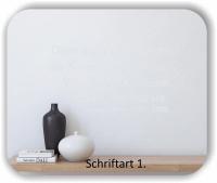 Wandtattoo - Denn wahrhaftig steckt die Kunst in...