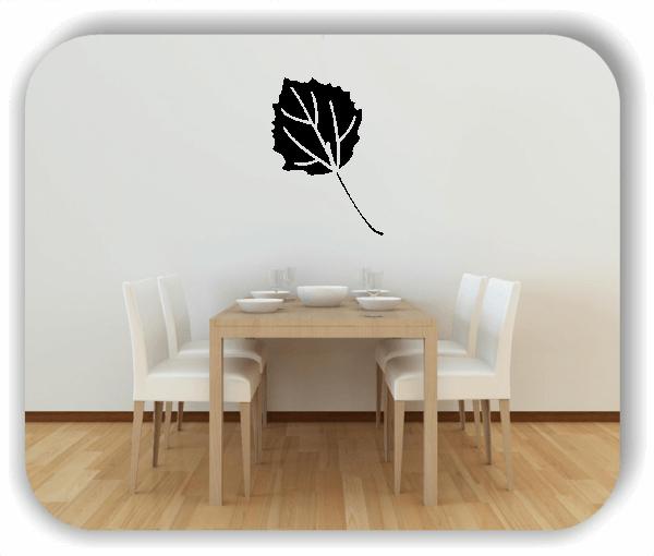 Wandtattoo - ab 50x70cm - Blätter - Motiv 8243