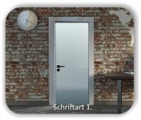 Türbeschriftung - Geräteraum
