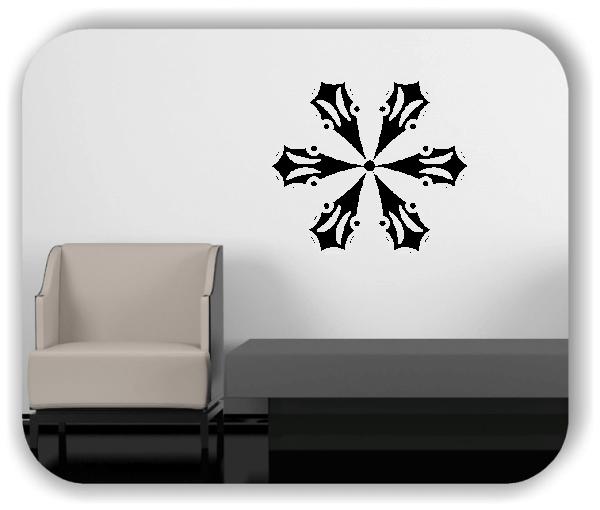 Wandtattoo - Snowflakes - ab 50x47 cm - Motiv 2528