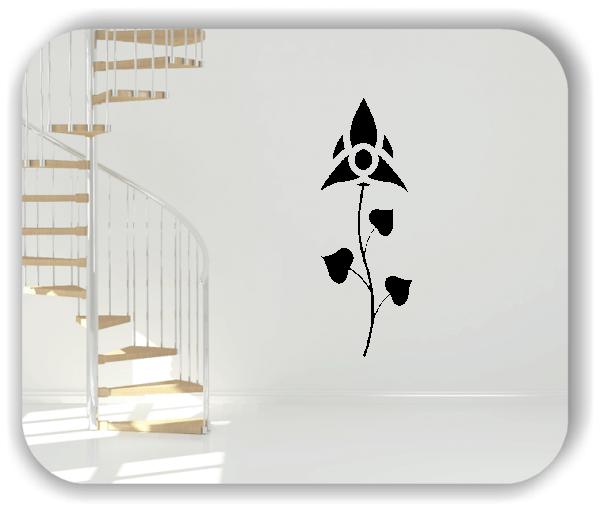 Wandtattoo - Schnittblumen - ab 18x50 cm - Motiv 9004