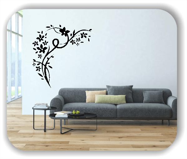 Wandtattoo - China Floral - ab 50x50 cm - Motiv 3161