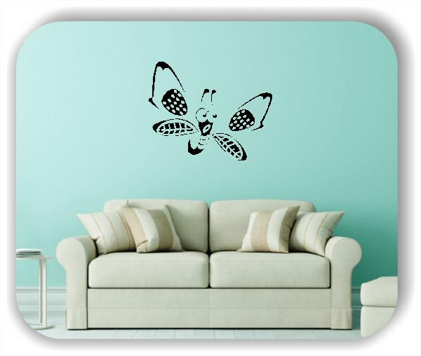 Wandtattoo - Süßer Schmetterling