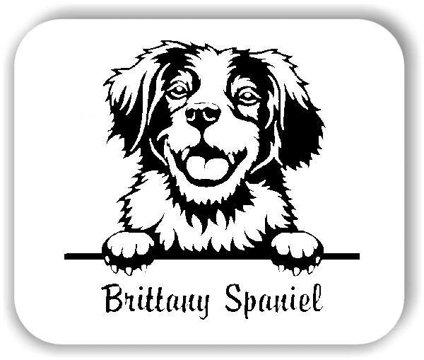 Wandtattoo - Hunde - Brittany Spaniel