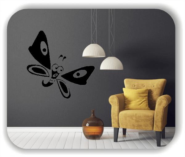 Wandtattoo - Niedlicher Schmetterling
