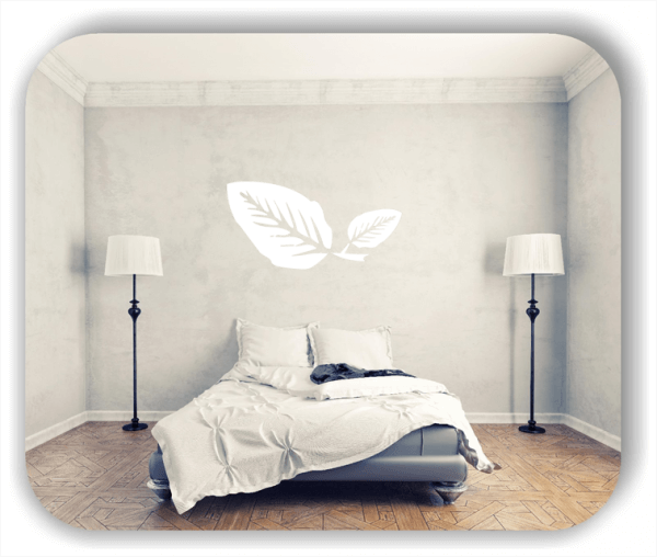 Wandtattoo - ab 50x25cm - Blätter - Motiv 8210