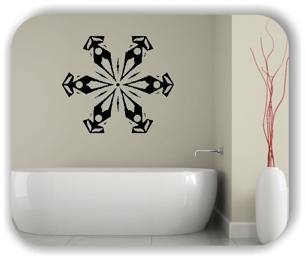 Wandtattoo - Snowflakes - ab 50x43 cm - Motiv 2574