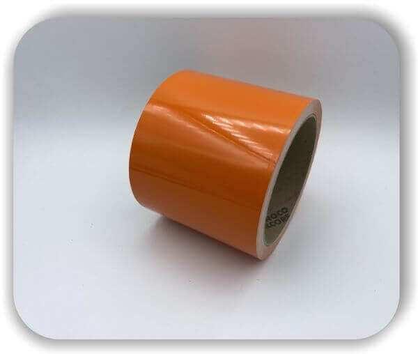 Zierstreifen 120 mm Orange aus Hamburg für Auto, Wohnwagen & Boot