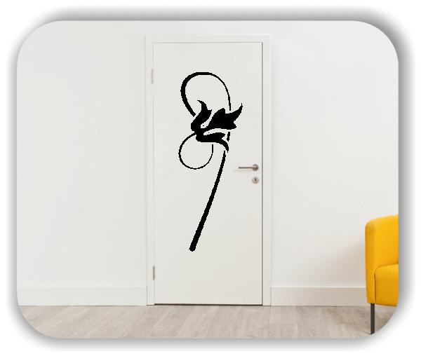 Wandtattoo - Schnittblumen - ab 18x50 cm - Motiv 9011