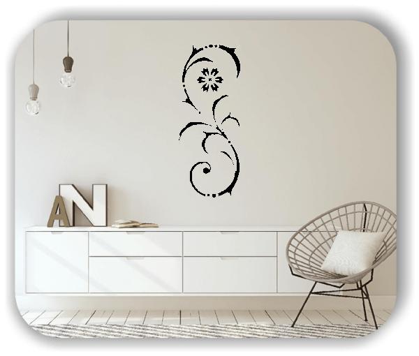 ❤ Wandtattoo - Ornament Renaissance - ab 20 x 50 cm - Motiv 09