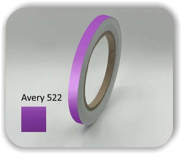 9 mm Zierstreifen für Auto & Boot Violett Zierlinien