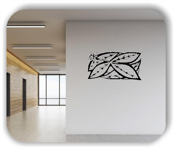 Wandtattoo - Natur Ornamente - ab 50 x 25 cm - Motiv 97