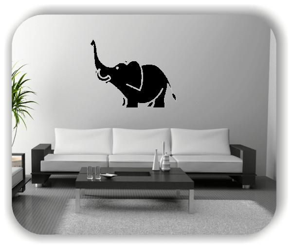 Wandtattoo - Elefant