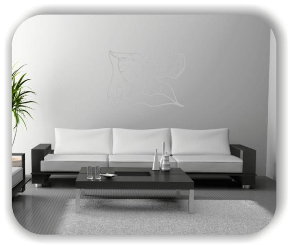 Wandtattoo - Natur Ornamente - ab 60 x 43 cm - Motiv 32