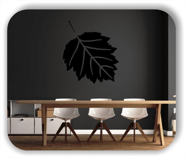 Wandtattoo - ab 50x55cm - Blätter - Motiv 8256