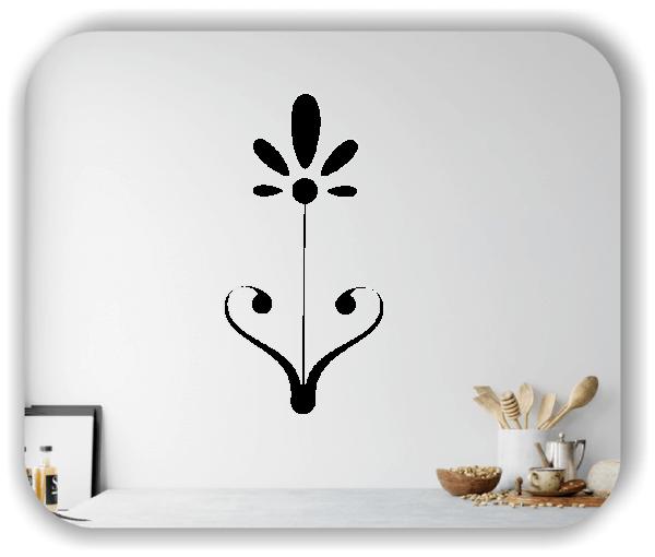 Wandtattoo - Schnittblumen - ab 25x50 cm - Motiv 9021