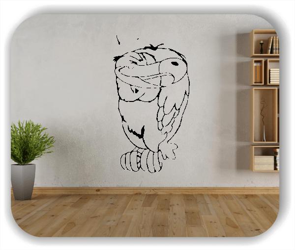 Wandtattoo - Vogel - Geier