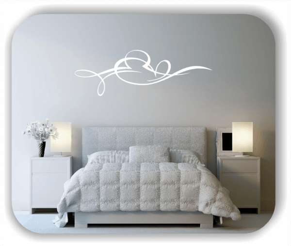 Wandtattoo - Schnörkel Design - ab 60 x 20 cm - Motiv 30