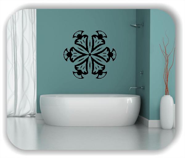 Wandtattoo - Snowflakes - ab 50x47 cm - Motiv 2526