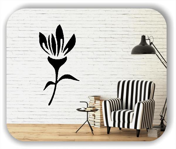 Wandtattoo - Schnittblumen - ab 25x50 cm - Motiv 9014
