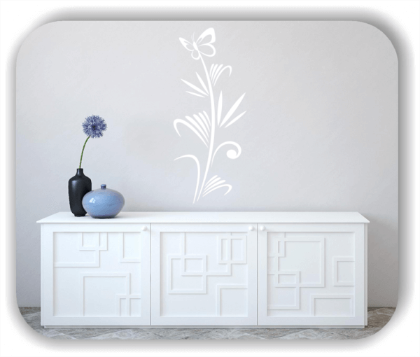 Wandtattoo - Japan Floral - ab 25x60 cm - Motiv 3266