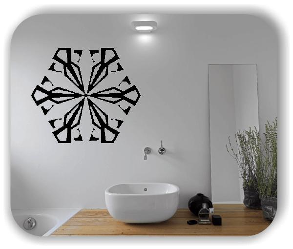 Wandtattoo - Snowflakes - ab 50x43 cm - Motiv 2590