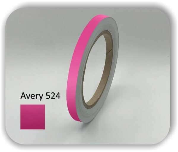 Magenta Farbene 7 mm Zierstreifen für Auto, Motorrad & Boot
