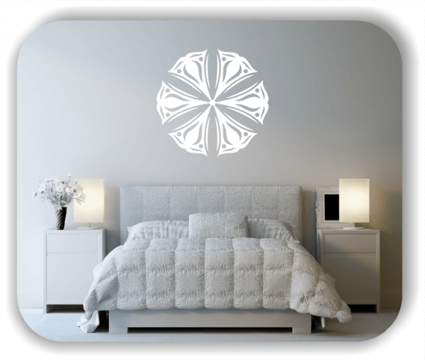 Wandtattoo - Snowflakes - ab 50x48 cm - Motiv 2504