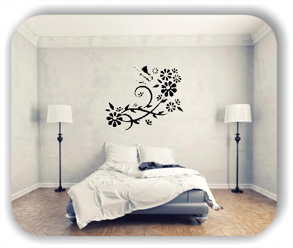 Wandtattoo - China Floral - ab 50x40 cm - Motiv 3141
