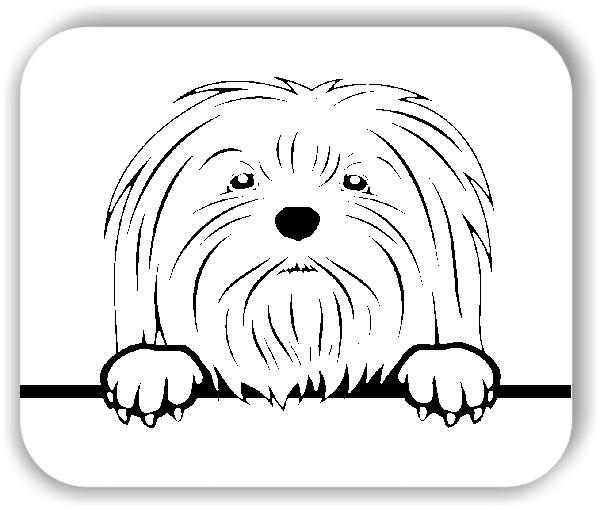 Wandtattoo - Hunde - Malteser 1 - ohne Rassename