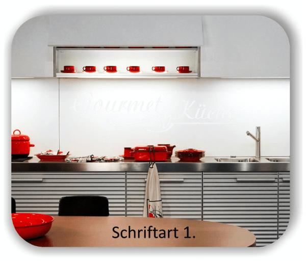 Wandtattoo - Gourmet Küche
